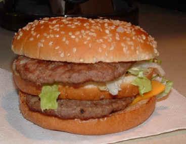 BigMac McDonals, foto real