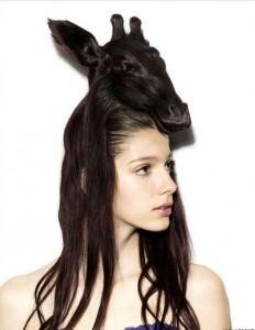 Animales en la cabeza, lo más fashion 10