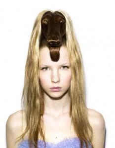 Animales en la cabeza, lo más fashion 9