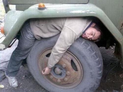 siesta-rueda tractor