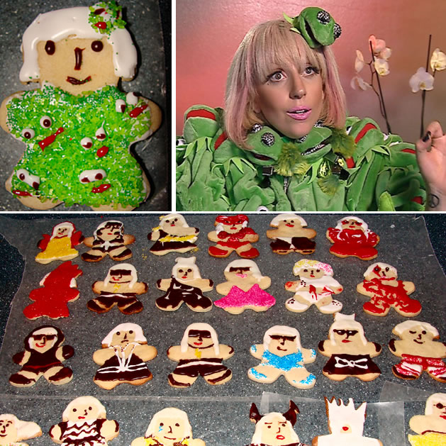 lady gaga galletas