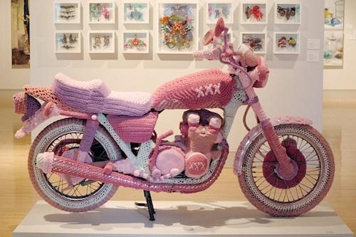 Moto rosa para Rosa 3