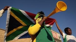 vuvuzelas en el Mundial de fútbol de Sudáfrica