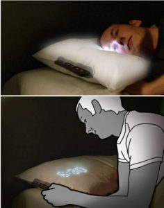 almohada alarma