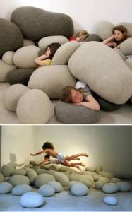 almohada piedra