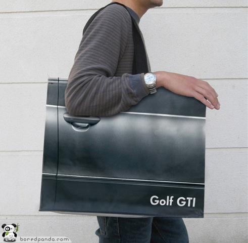 Bolsa original Golf GTI