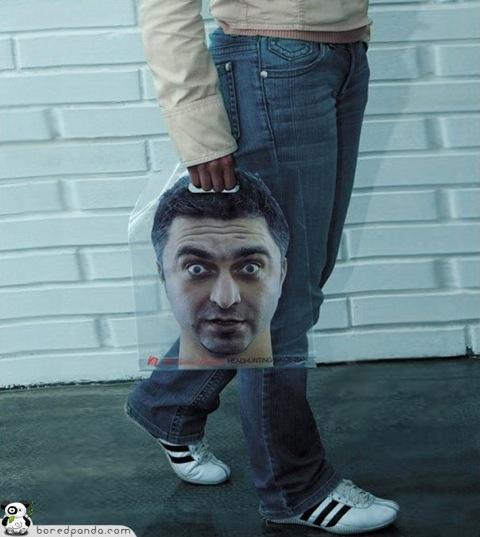 Bolsa original cabeza