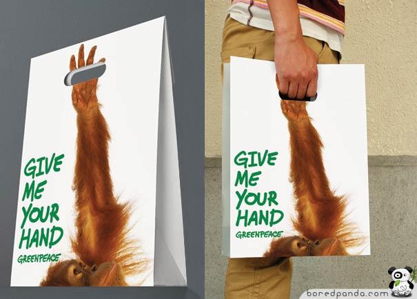 Bolsa original orangután