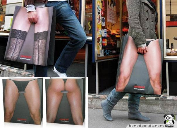 Bolsas originales eróticas