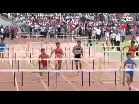 chino saltando vallas