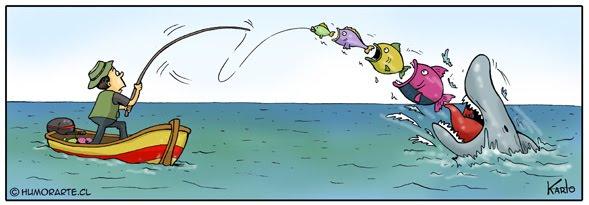 humor pescando