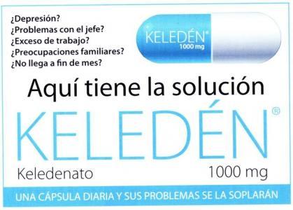 pastillas keleden