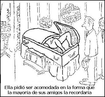 humor funeral
