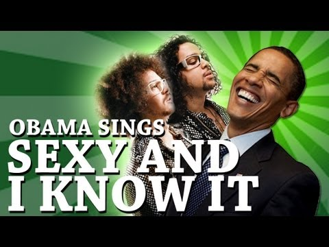 obama canta sexy and i know it