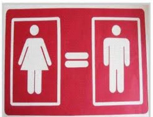 igualdad entre la mujer y el hombre