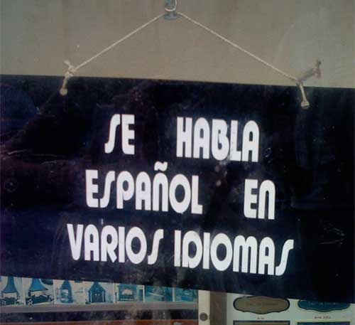 se habla espanol en varios idiomas