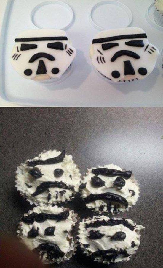 cupcakes fallidas