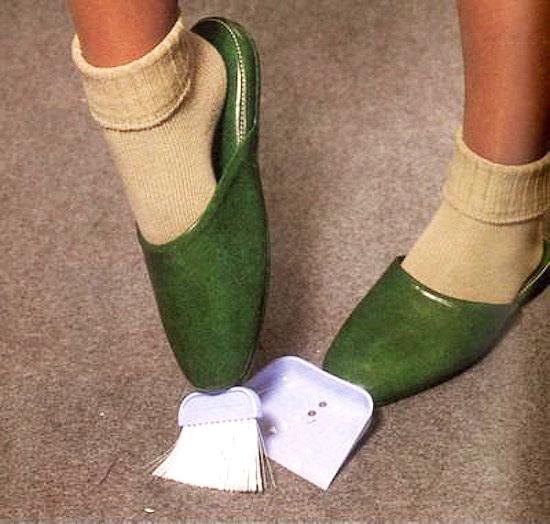 inventos japoneses - pantuflas limpiadoras