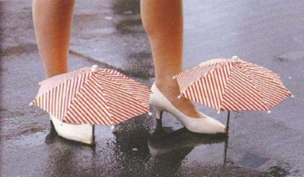 inventos japoneses - paraguas zapatos